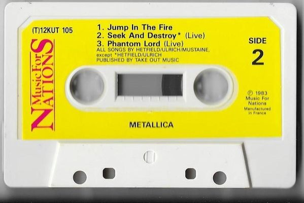 Metallica - Jump In The Fire (Cassette)